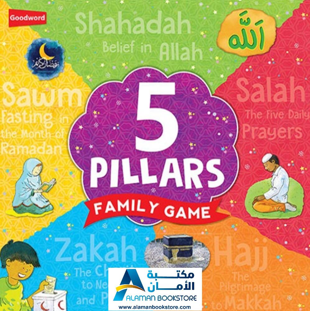 9789351791591 - Five 5 Pillars Family Game - Islamic Game - Goodword - العاب اسلامية