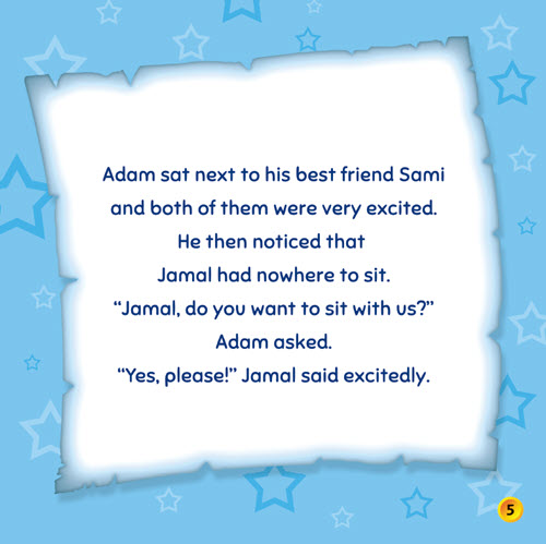 Al-Aman Bookstore - Arabic & Islamic Bookstore in USA - Sara & Adam - Adam Learns to be Mindful